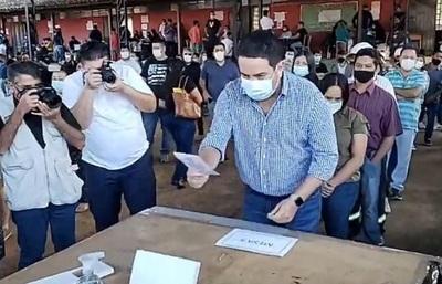 Recibió votos hasta de colorados, asegura intendente electo de Villa Elisa