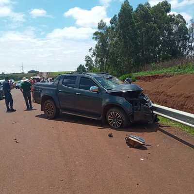 Accidente de tránsito deja dos fallecidos en Cedrales