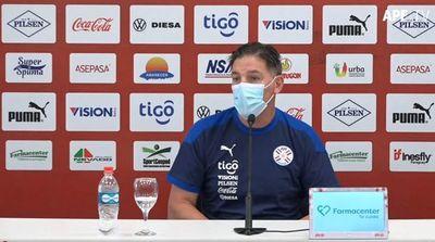 """Berizzo: """"En 5 minutos, el partido se nos fue de la mano"""", dijo luego de la derrota de Paraguay"""