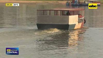 Río Paraguay volvió a subir