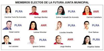 Histórico: Por primera vez la Junta Municipal estará integrada por 6 mujeres y 6 hombres