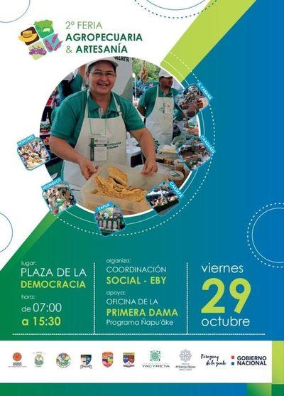 La Feria Agropecuaria y de Artesanía se realizará en Asunción el 29 de octubre