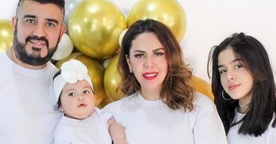 La hija de Rocío Núñez se convirtió en hija de Dios
