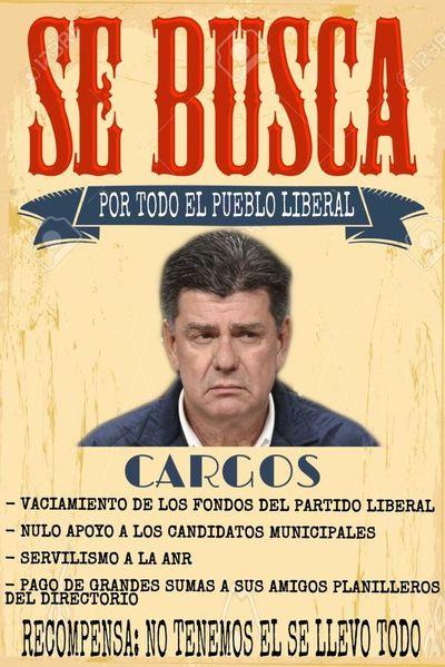 """Llano exige, al estilo """"viejo oeste"""", la renuncia de Efraín Alegre del PLRA"""