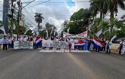 Sindicato Nacional de Médicos levanta protestas