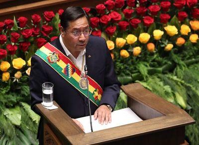 Protestas en Bolivia contra el gobierno de Luis Arce