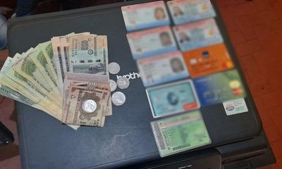 Caaguazú: Detienen y recuperan objetos robados del poder de un hombre