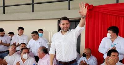 """La Nación / """"Hoy Santiago Peña es el mejor posicionado en la ANR"""", afirmó Pedro Alliana"""