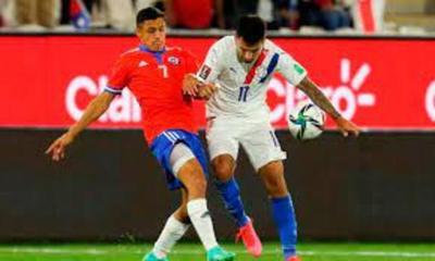 Paraguay cayó ante Chile y salió de zona de clasificación
