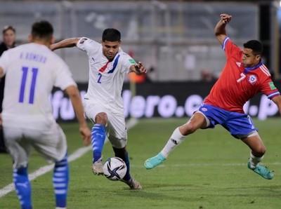 Paraguay pierde en Chile y se aleja el sueño mundialista