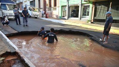 Essap restablecerá esta tarde el agua potable en el centro asunceno