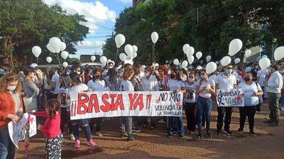 Marchan por la Paz en Pedro Juan