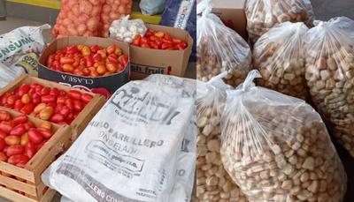 Entregan alimentos a Hospitales del departamento de Caazapá