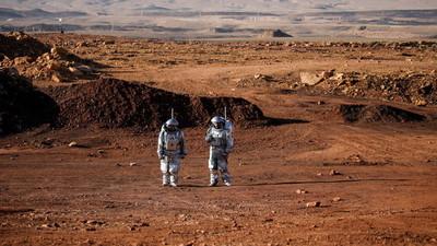 Simulan la vida en Marte en un cráter del desierto israelí del Néguev