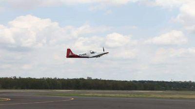 """Realizan vuelo de aeronave """"made in Paraguay"""""""