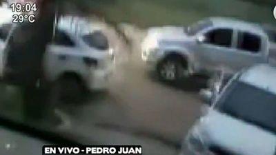 Divulgan nueva imagen del cuádruple homicidio en Pedro Juan Caballero