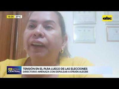Tensión en el PLRA luego de las elecciones