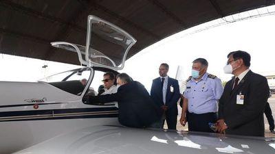 Interés por ensamblar aviones en el país