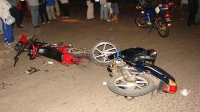 Un fallecido durante violento choque entre motocicletas en Hernandarias