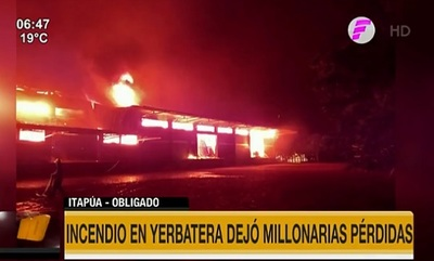 Incendio consume instalaciones de la Cooperativa Colonias Unidas