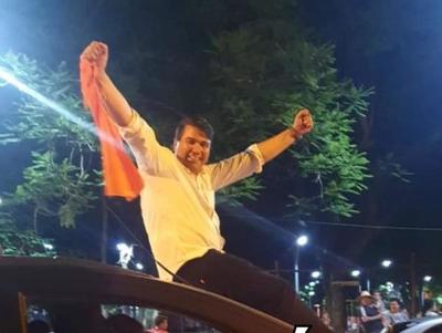 Diego Ríos deberá gobernar con una mayoría colorada en la Junta de Minga