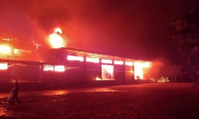 Incendio de Cooperativa Colonias Unidas deja millonarias pérdidas