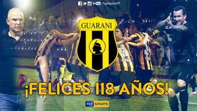 Aniversario 118 del club Guaraní