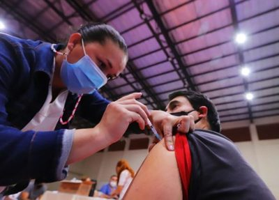 Primera dosis anticovid: penúltimo día de vacunación