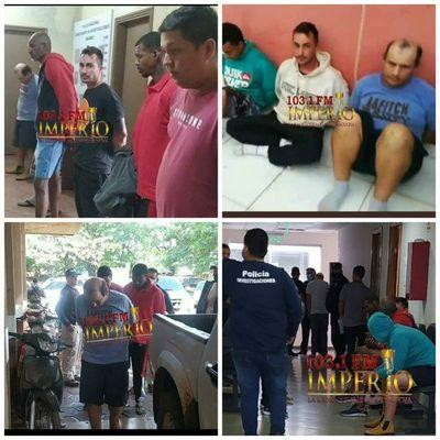 Brasileños detenidos son imputados por la Fiscalía