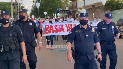 Ciudadanía de Pedro Juan sale a las calles a pedir que pare la violencia