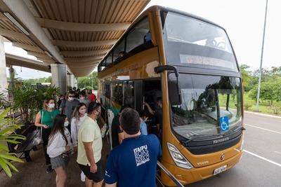 Aumenta visita de turistas a la represa de la Itaipu Binacional