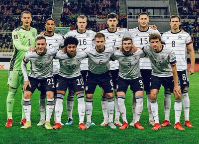 Alemania es el primer clasificado al Mundial de Qatar 2022