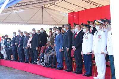 """Inauguran paseo """"Héroes del Chaco"""" en predio del Cuartel de la Victoria"""