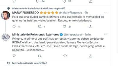 Ministerio abre sumario por respuesta a Marly Figueredo