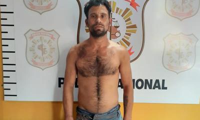 Detienen a prófugo con cuatro órdenes de captura y seis antecedentes penales en Caaguazú