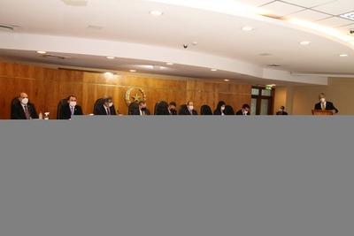 Arrancó audiencias públicas a candidatos a la CSJ