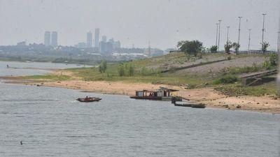 Río Paraguay recupera 30 cm de nivel con las últimas lluvias