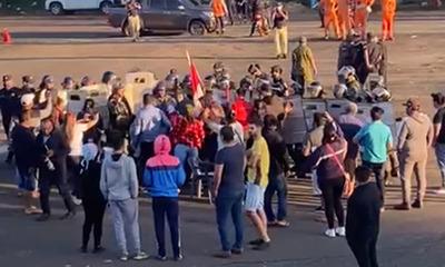 En Blas Garay exigen salida ante aislamiento, gobierno plantea represión policial