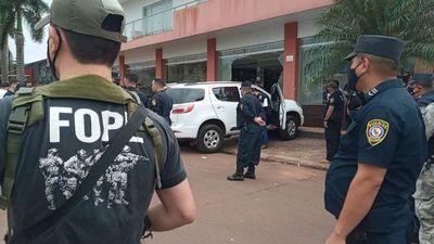 Presentan a Mario Abdo un plan contra el crimen organizado en la frontera