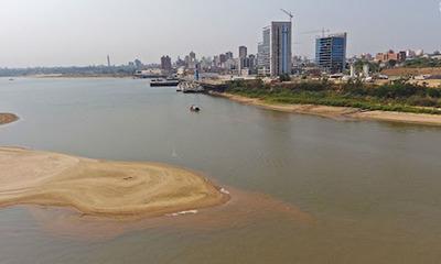 Nivel del río Paraguay recupera 30 cm con últimas lluvias