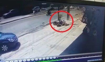 Policía habría causado accidente fatal a motociclista
