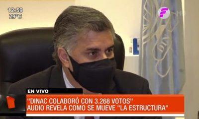 """DINAC """"colaboró"""" con 3268 votos para la ANR en las municipales"""