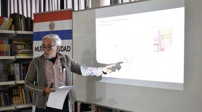 Buscan fortalecer situación catastral del distrito de Loma Plata