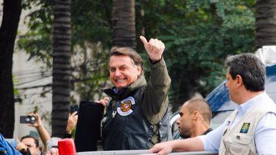 No le dejaron entrar a la cancha a Bolsonaro