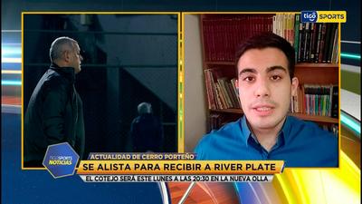El informe de Cerro Porteño con Pedro Torres