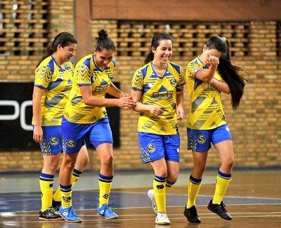 Colonial y Guaraní definen la primera final del Futsal Femenino