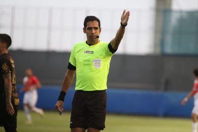 Árbitros para los dos partidos de Copa Paraguay