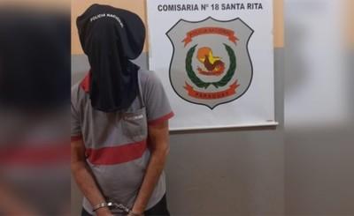 Playero es detenido tras amenazar de muerte a su patrona
