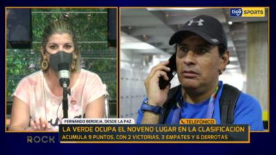 Fernando Berdeja en contacto con Rock & Gol TV