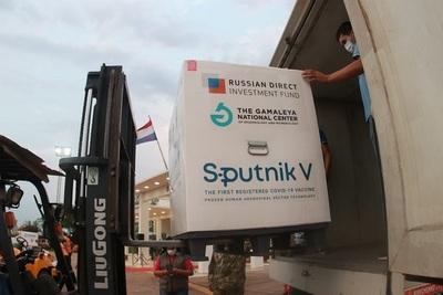 Más 300.000 dosis del componente 2 de la Sputnik llegarán el viernes